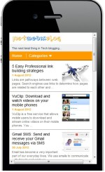 How to create a mobile version of your wordpress blog using Mobstac