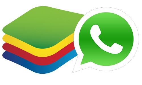 WhatsApp BlueStacks Logo