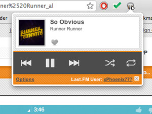 Google Chrome:Use Google Chrome as a music player for your computer