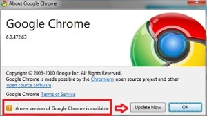 Google Chrome: How to check for Google Chrome updates