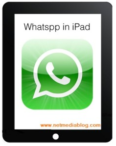 How to use Whatsapp on iPad and iPod touch