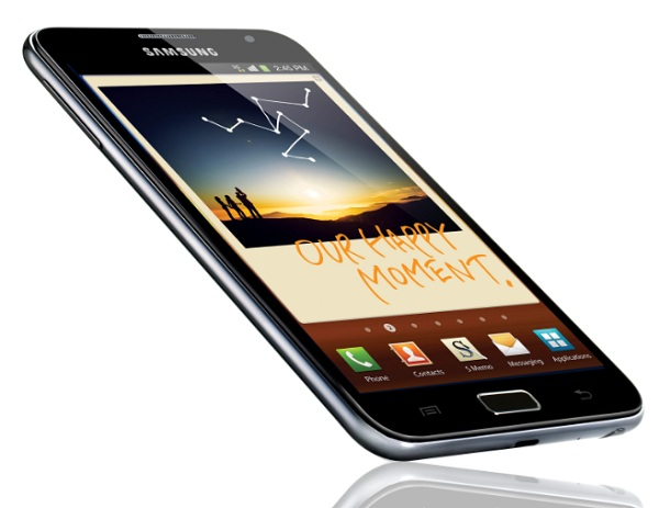 samsung galaxy note great cellular phones