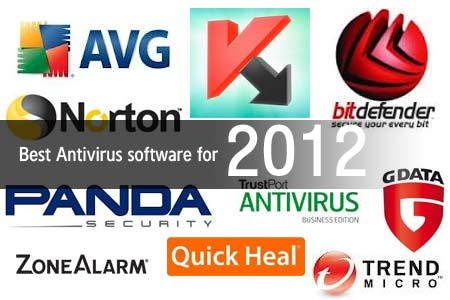 Top Antivirus Programs for 2012