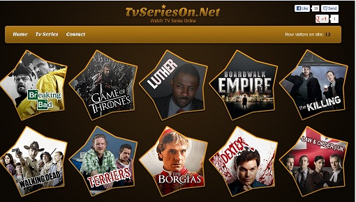 Watch TV series online with TVserieson
