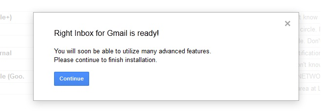 Right Inbox for Gmail is ready