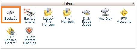How to backup a Website/Blog using Cpanel
