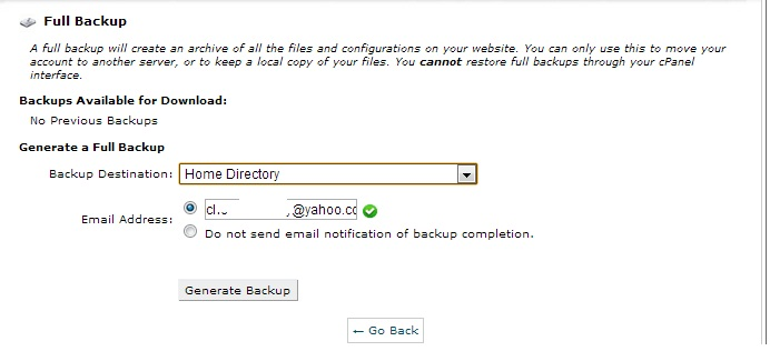 How to backup Website/Blog using Cpanel
