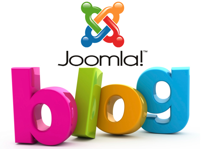 Creating a blog with Joomla
