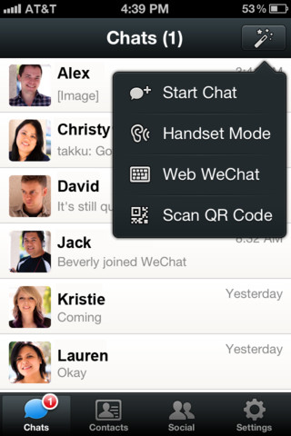 WeChat Social Media app - A New Way to Connect
