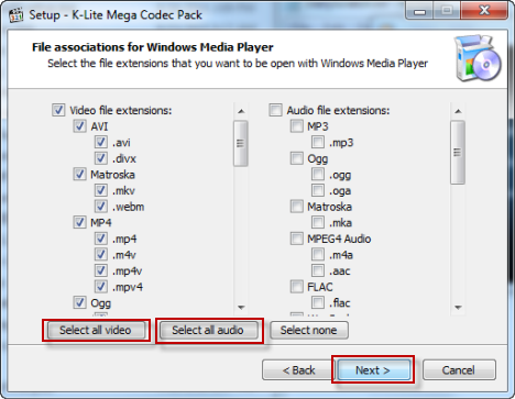 How to play every media formats on Windows media player