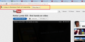 How to fix 'A plug-in (Shockwave Flash) isn't responding' error on Google Chrome