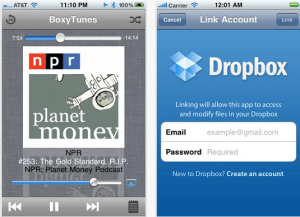 How to Stream Cloud Music on iPhones using BoxyTunes