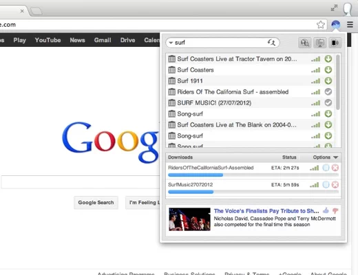 download with bittorrent surf