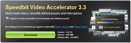Speedbit Video Accelerator - Watch Youtube Videos without buffering