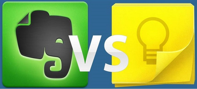 Divorcing Evernote to marry Google Keep?
