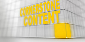 Improving search engine ranking with Cornerstone Content