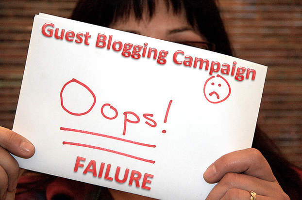 Guest blogging mistakes