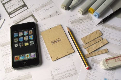 iPhone app development - Designing process