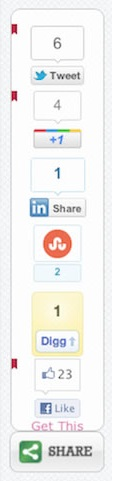 ShareThis Vertical Floating Share Plugin