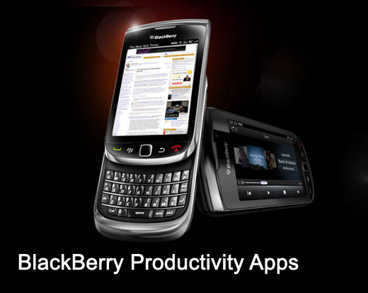 BlackBerry Productivty Apps
