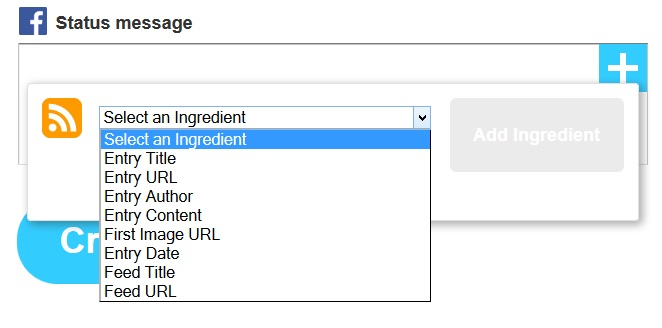add ingredients