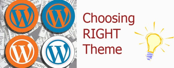 What to consider while choosing a Wordpress theme for your site