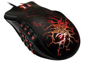 Razer Naga Molten MMO - Top gaming mouse for computer gaming