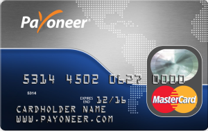 How to receive your Payoneer Prepaid debit MasterCard via DHL/FEDEX