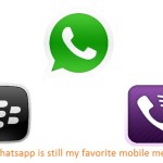 Why Whatsapp is still my favorite mobile messenger