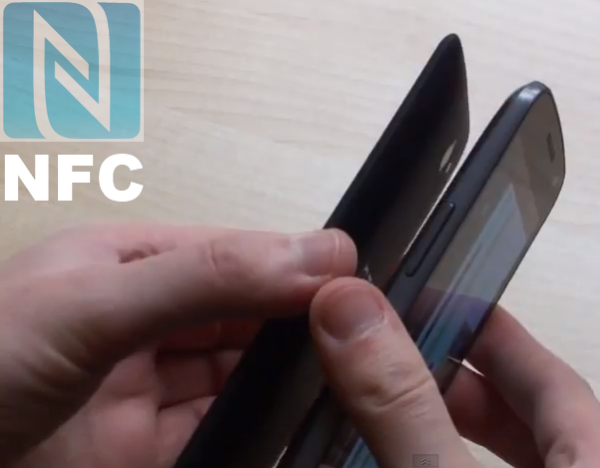 How to transfer contacts, music, video and photos using NFC in Android