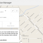Track your lost Android phone with Android Device Manager