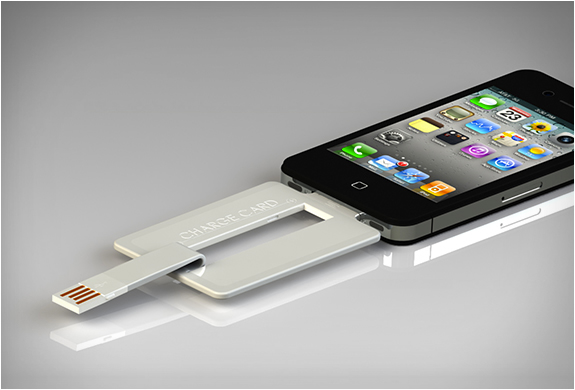 Charge Card - The coolest gadgets you shouldn't miss in 2013