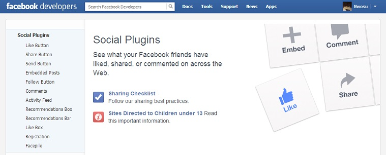 Facebook social plugins to improve your site traffic