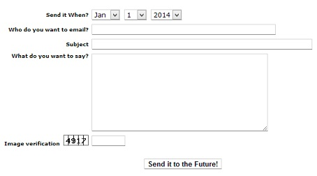 WhenSend - Send your future self email with these sites
