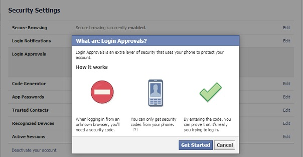 How to enable 2-Factor Authentication on Facebook
