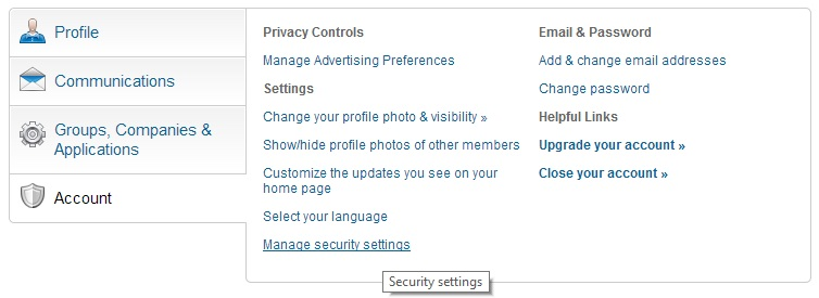 How to enable 2-Factor Authentication on LinkedIn