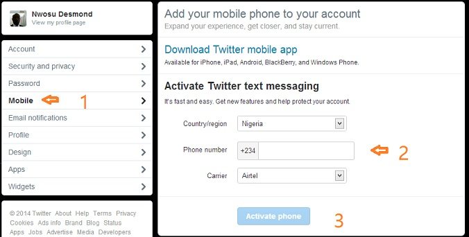 How to enable 2-Factor Authentication on Twitter