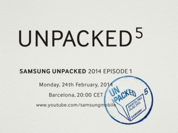 Samsung Unpacked 5 event