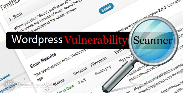 Scan Wordpress for Vulnerabilities