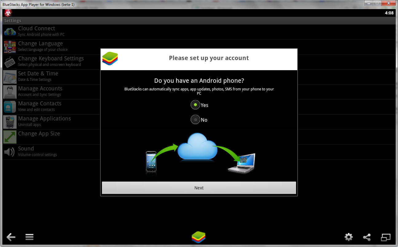 How to sync Android apps across devices with Bluestacks Cloud Connect