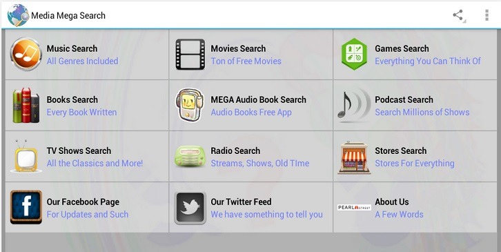 Media Mega Search Free
