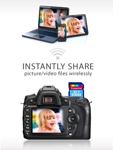 Wireless SD Card