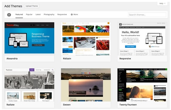 Wordpress 3.9 Theme Installer