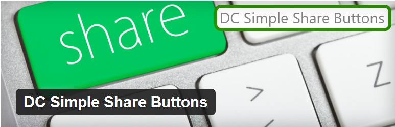 DC Simple Share button Plugin – Fastest Social Share plugin