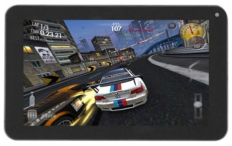 Tenko T7X Dual Core-1.2GHz (512MB,8GB HDD,WiFi Only) 7-Inch Android Tablet