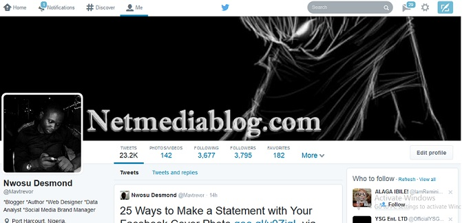 New Twitter Web Profile looks like Facebook