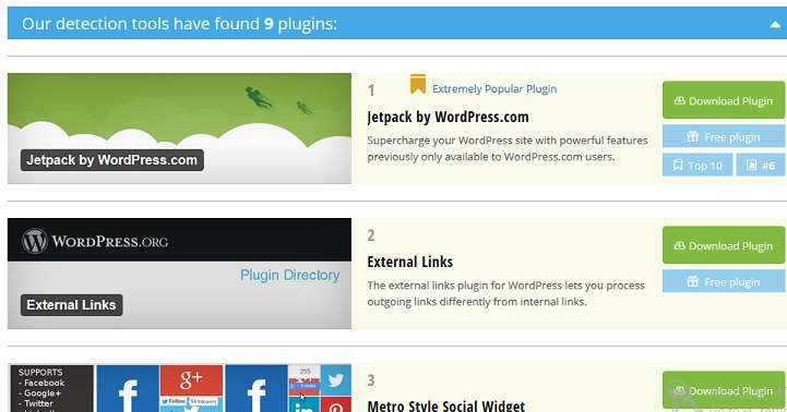 Find out Theme and Plugins used in a WordPress site