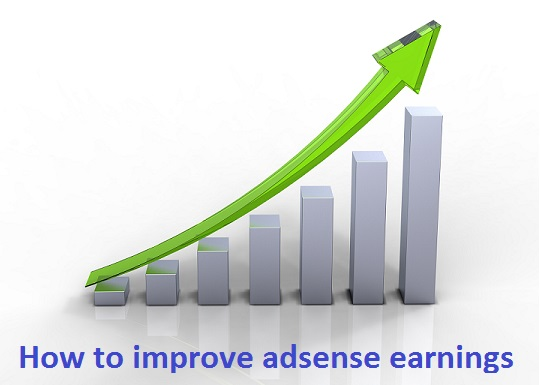 How to improve adsense earnings