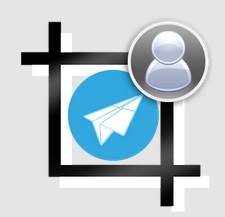 Profile wo cropping for Telegram app