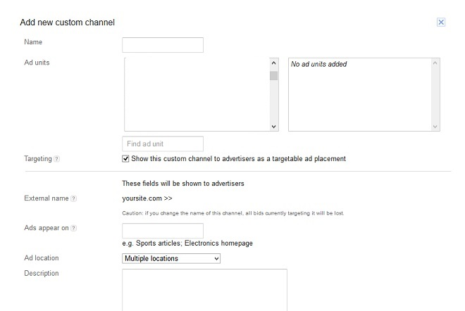 How Custom Channels Can Improve Adsense Earnings